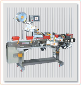 Top Labeling machine, Front and Back Sticker Labelling Machine